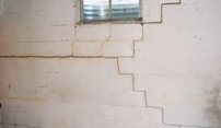Block Wall Crack