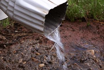 Water Running Through Gutter - Stow, OH - Premier Wall Anchor & Waterproofing